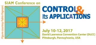 2017 SIAM Conference on Control and its Applications