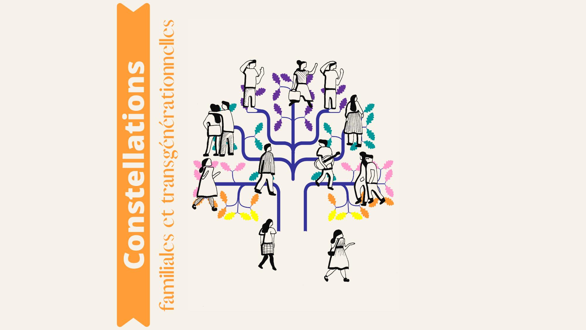 Représentation de la formation : Constellations familiales et transgénérationnelles - 2022/07 - LYON