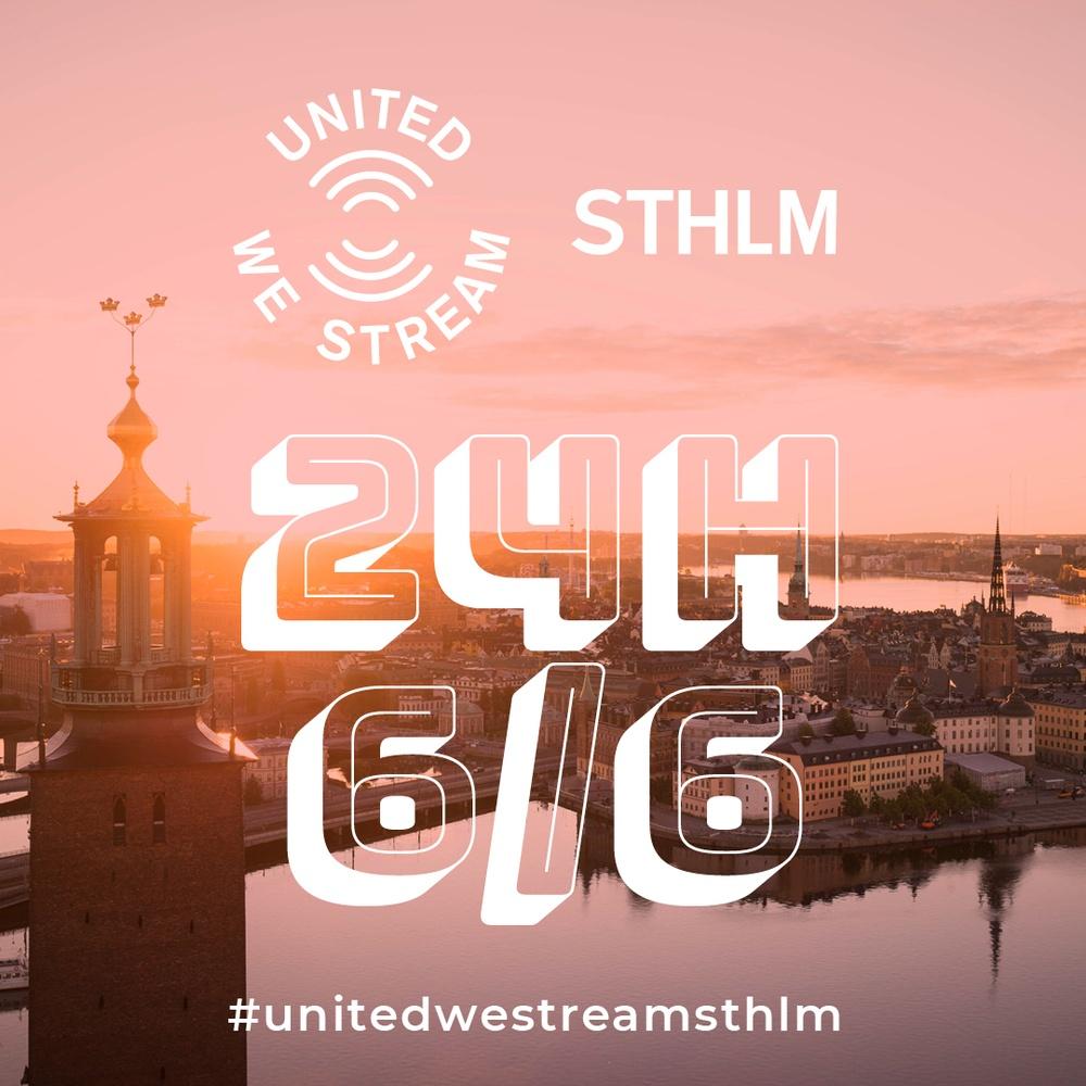 United we stream 6 juni Stockholm