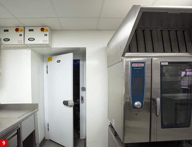 Foster Refrigerator cabinets at Lympstone Manor