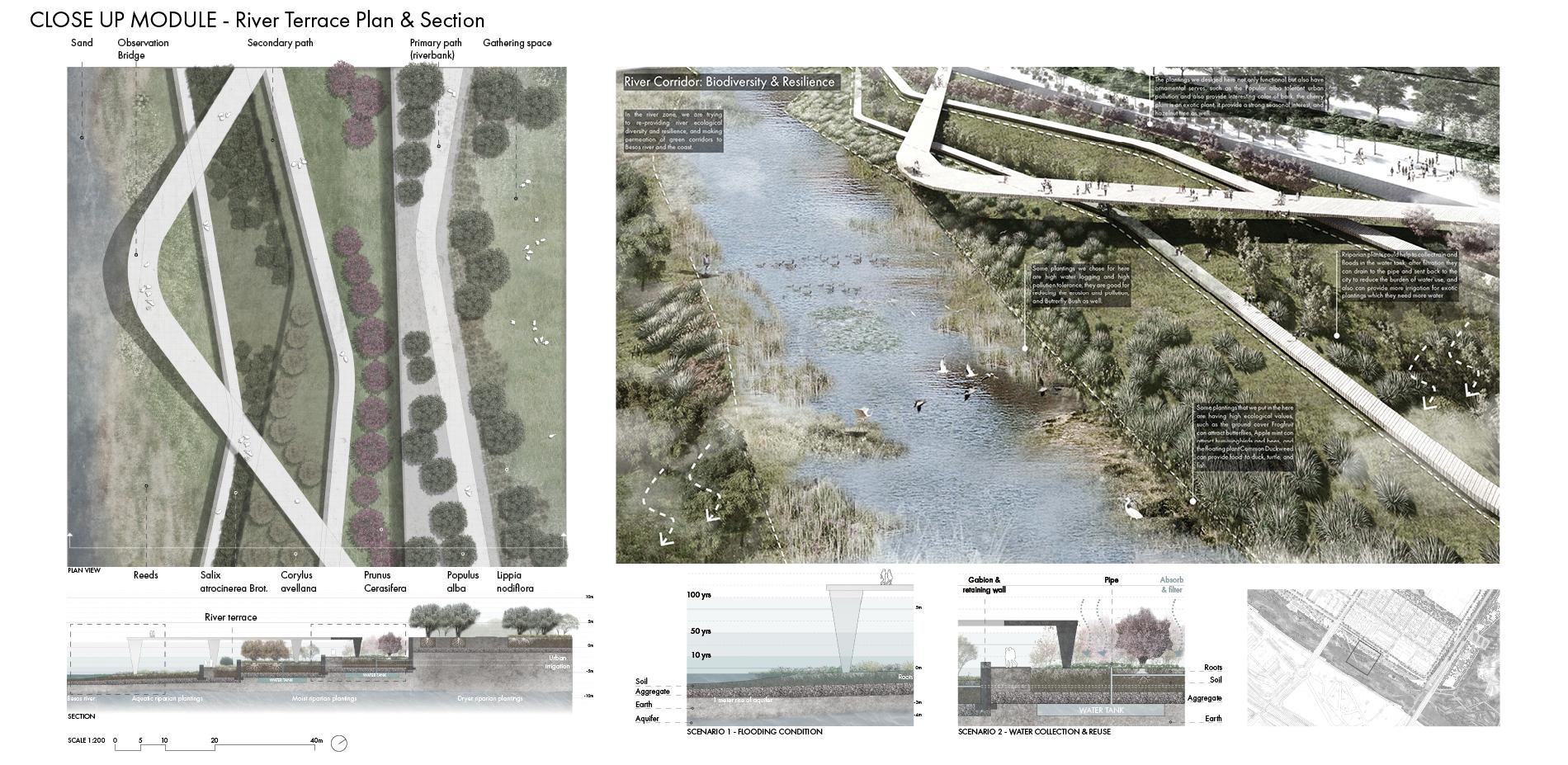 Close Up Module - River Terrace