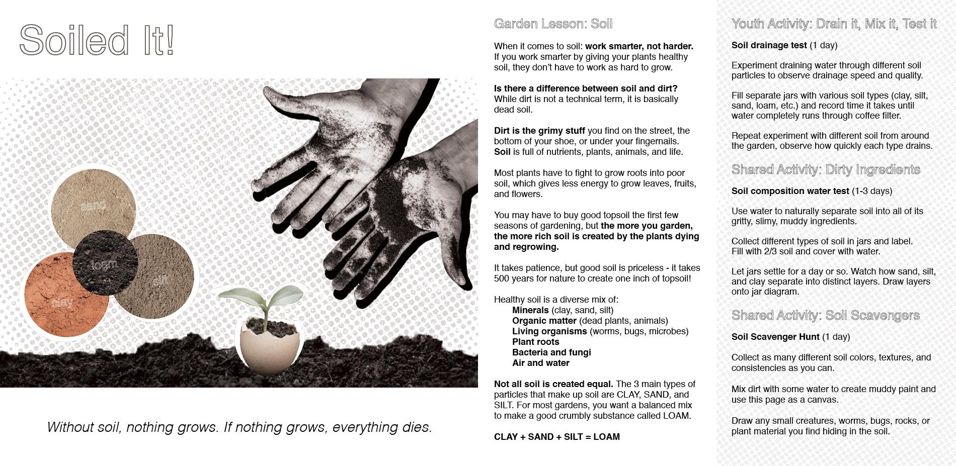 Soiled It!: Building Healthy Soil
