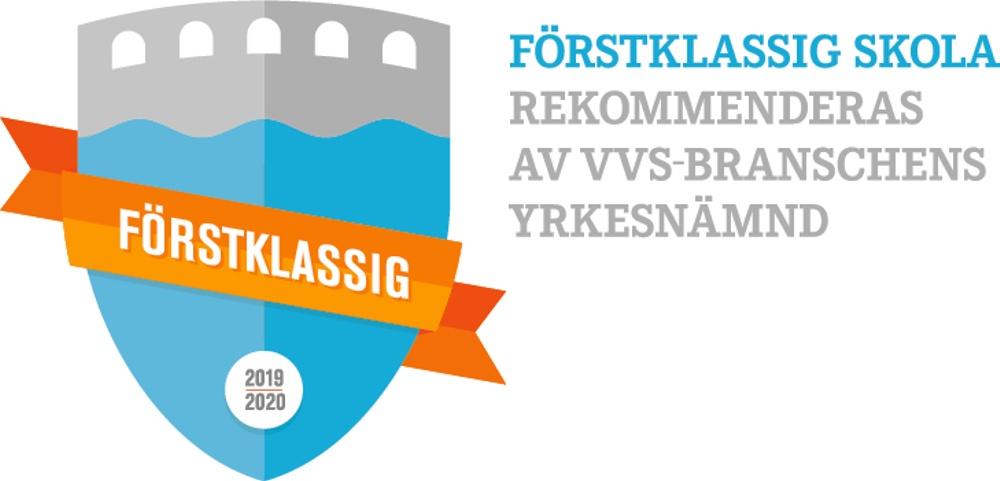Förstklassig skola rekommenderas av VVS-branschens yrkesnämnd_logo