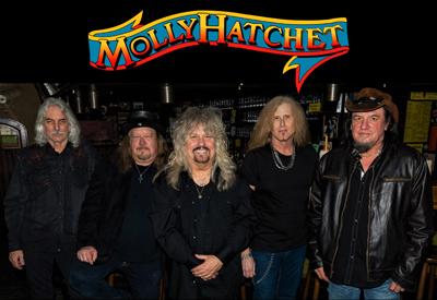 BT - Molly Hatchet - September 12, 2021, doors 6:30pm