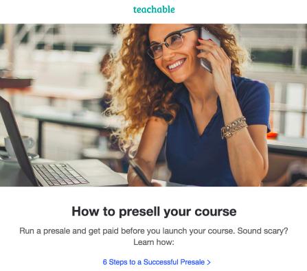 Teachable Newsletter Marketing Strategy