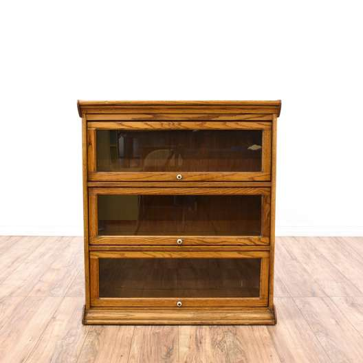 Low Glass Front Lawyer's Bookcase