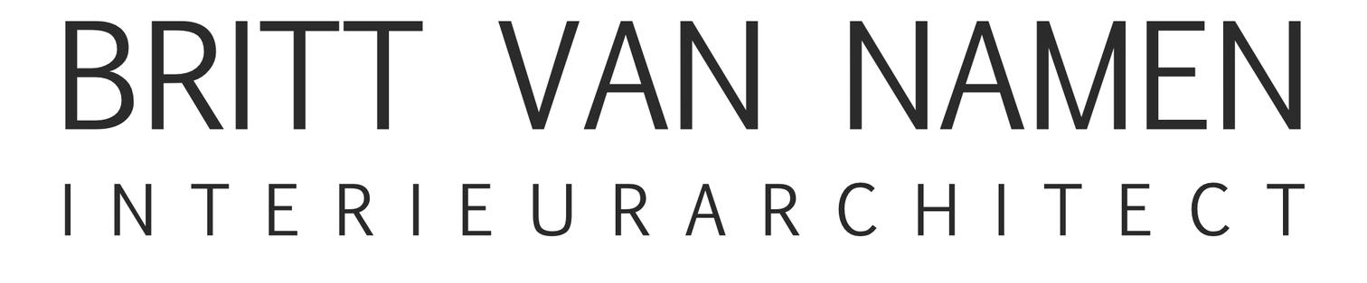 logo Britt Van Namen Interieurarchitect