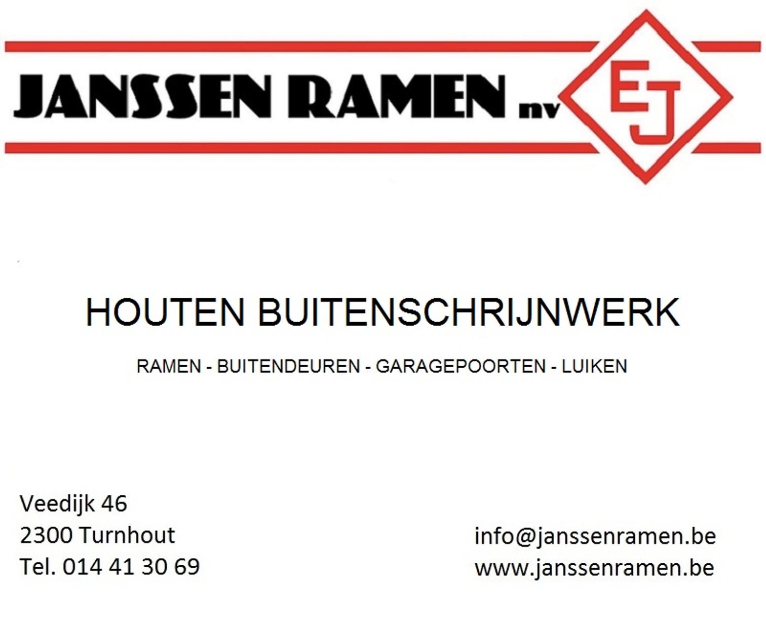 Janssen Ramen NV logo