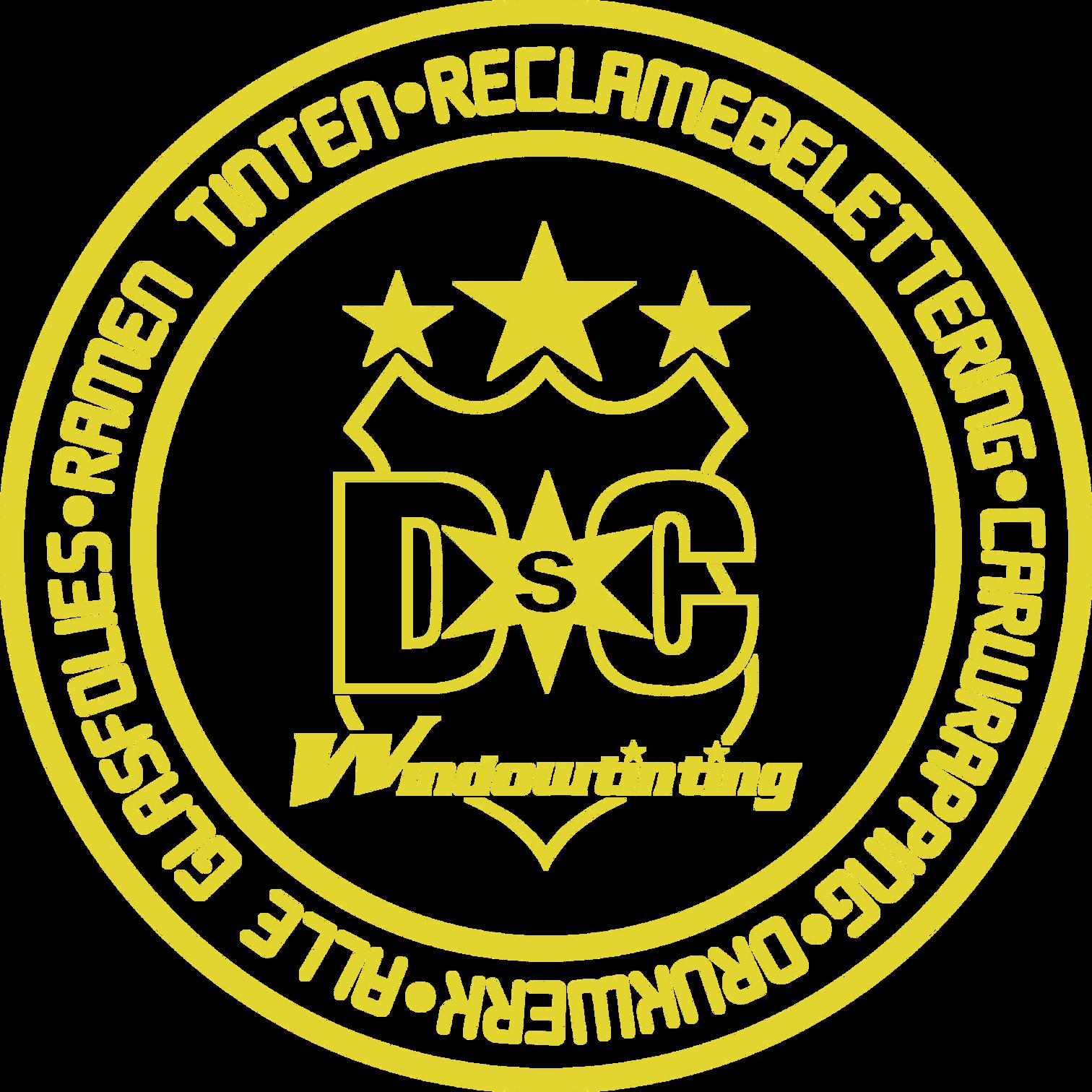 DSC Windowtinting / crealetter logo