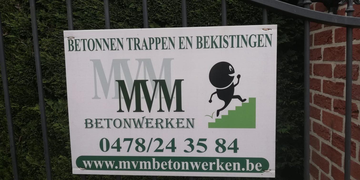 MVM Betonwerken logo