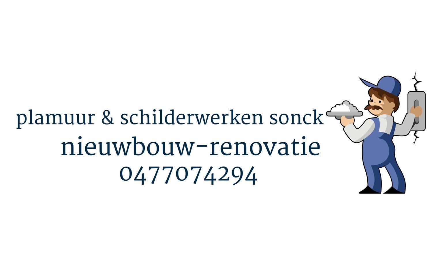 logo Sonck Plamuur & schilderwerken