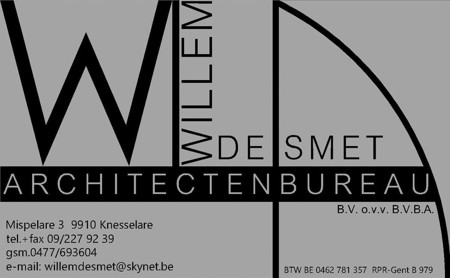 Architectenbureau De Smet Willem BVBA logo
