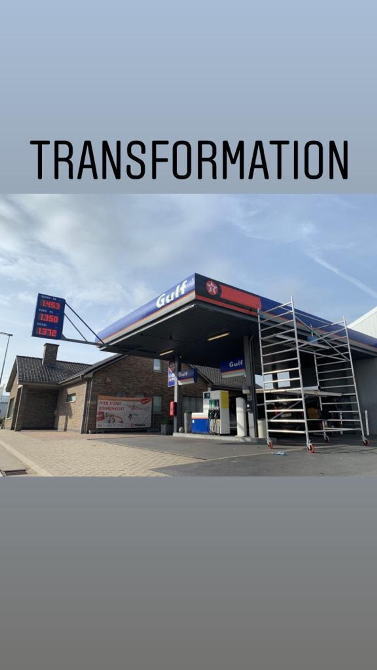 texaco tankstation