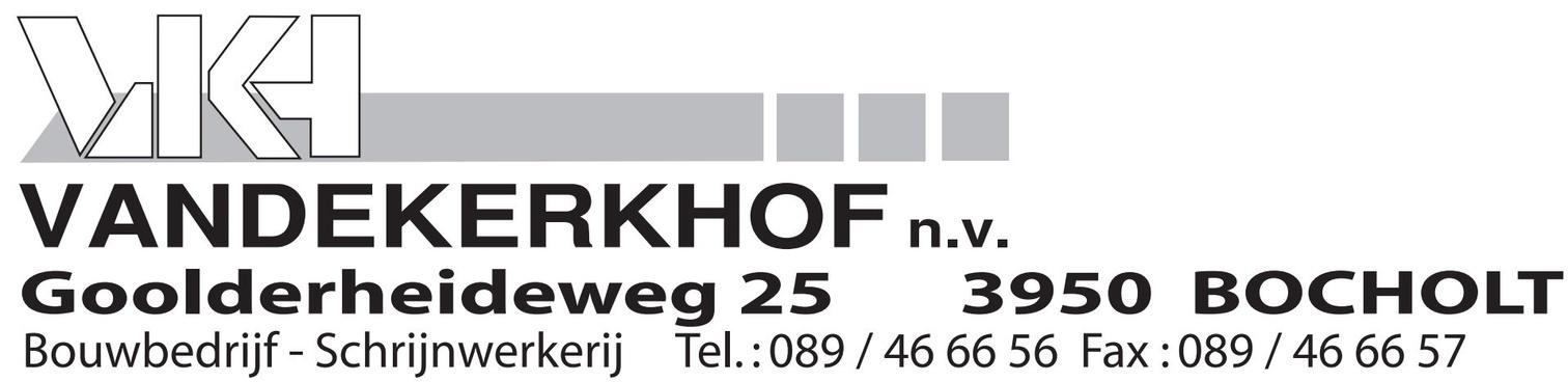 logo Vandekerkhof