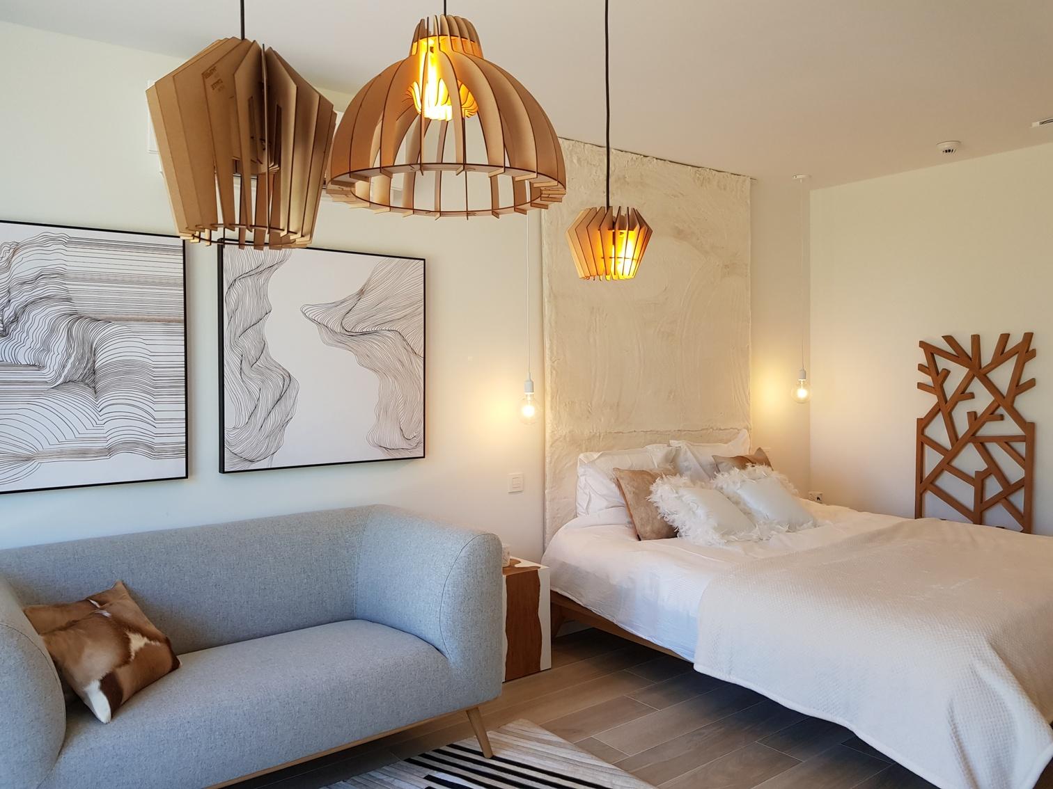 inrichting viersterren bed&breakfast - gastenkamer white now!