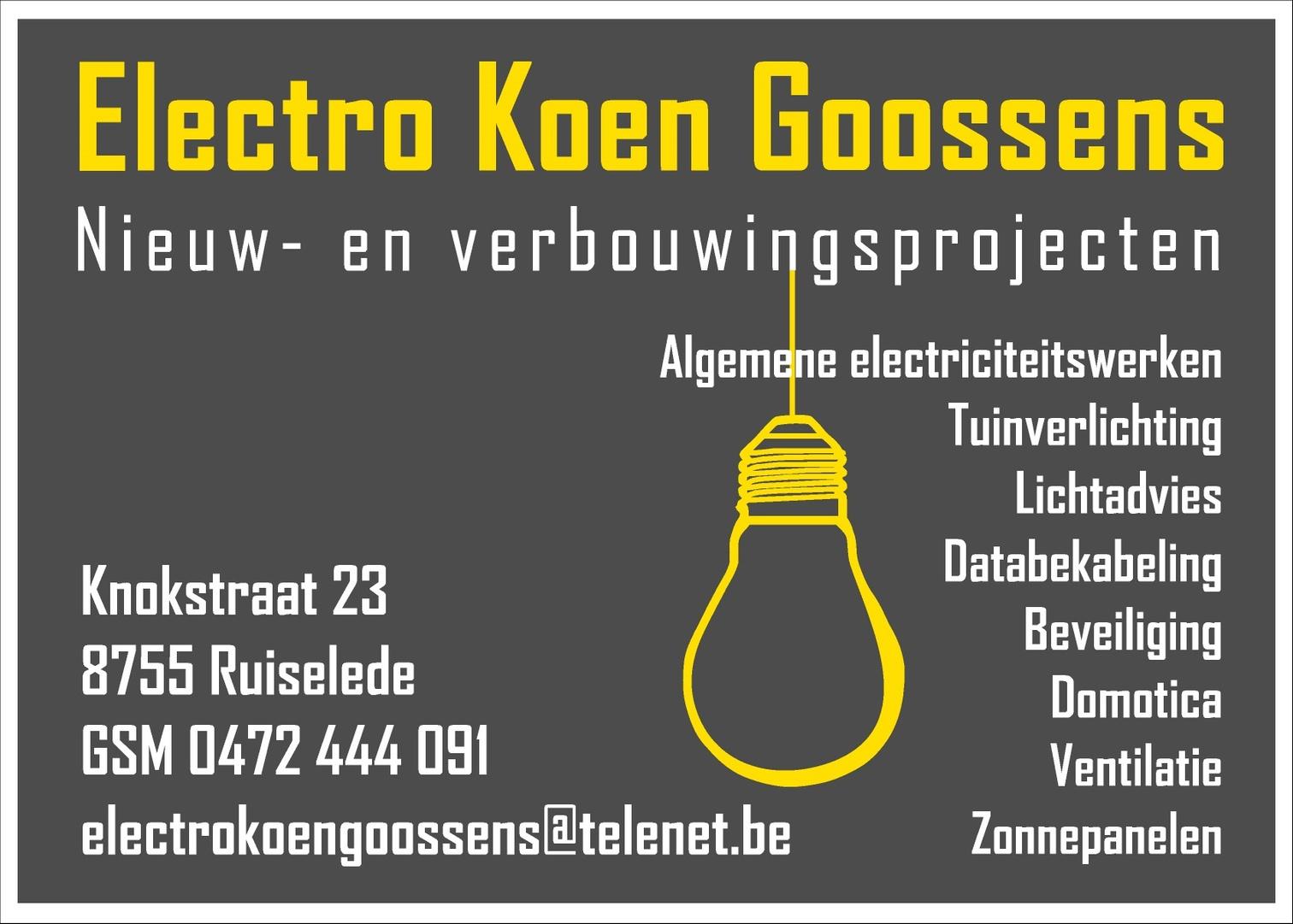 logo Electro Koen Goossens