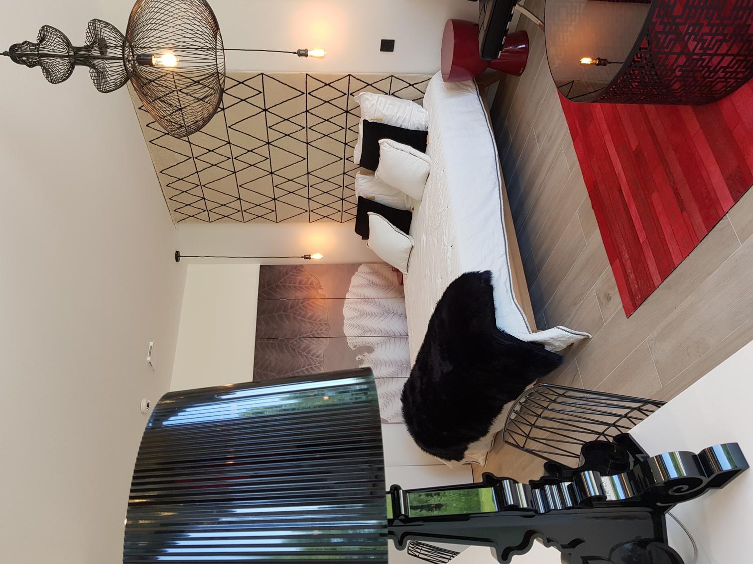 inrichting viersterren bed&breakfast - gastenkamer AngeLine
