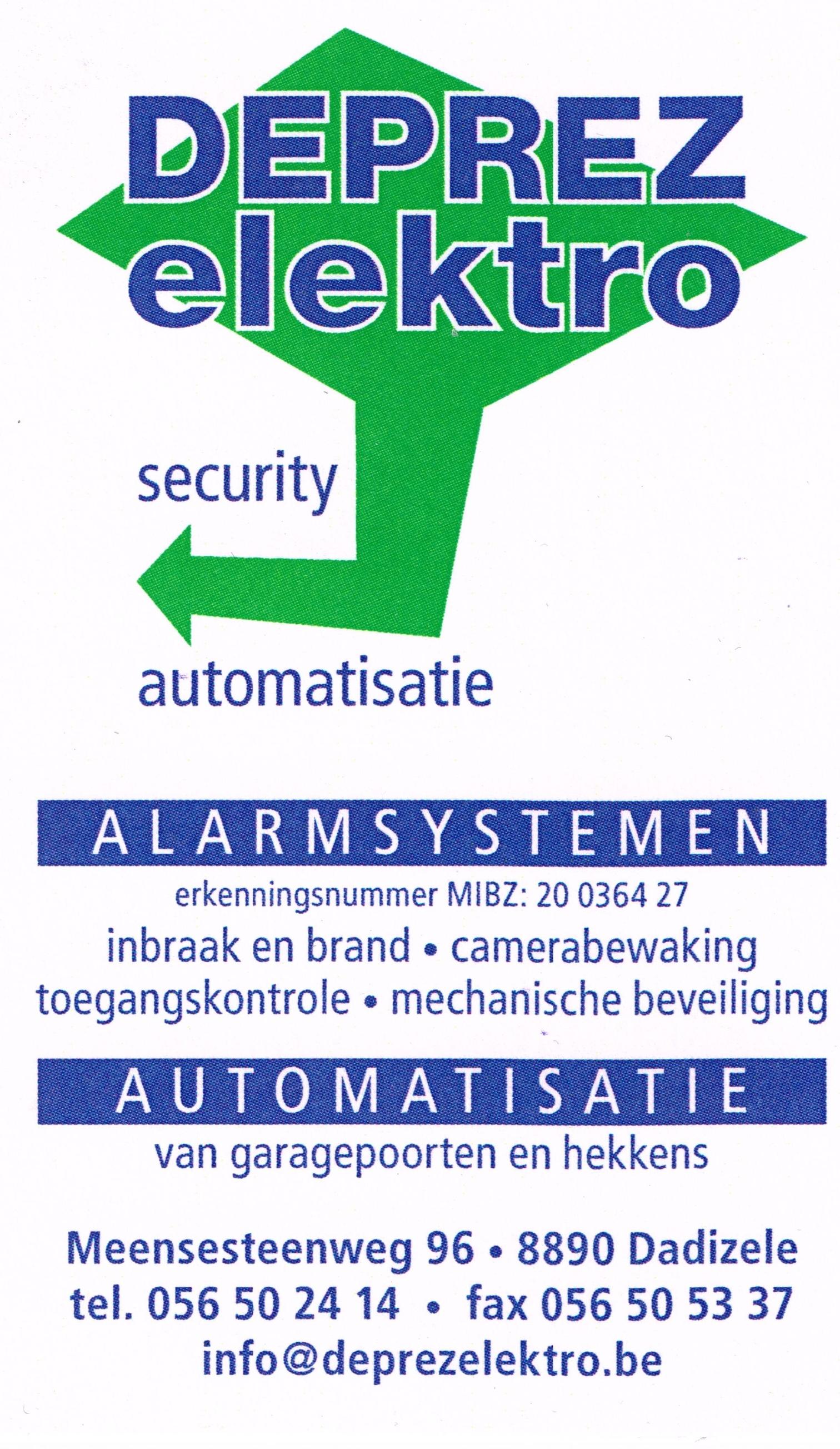 Deprez Elektro logo