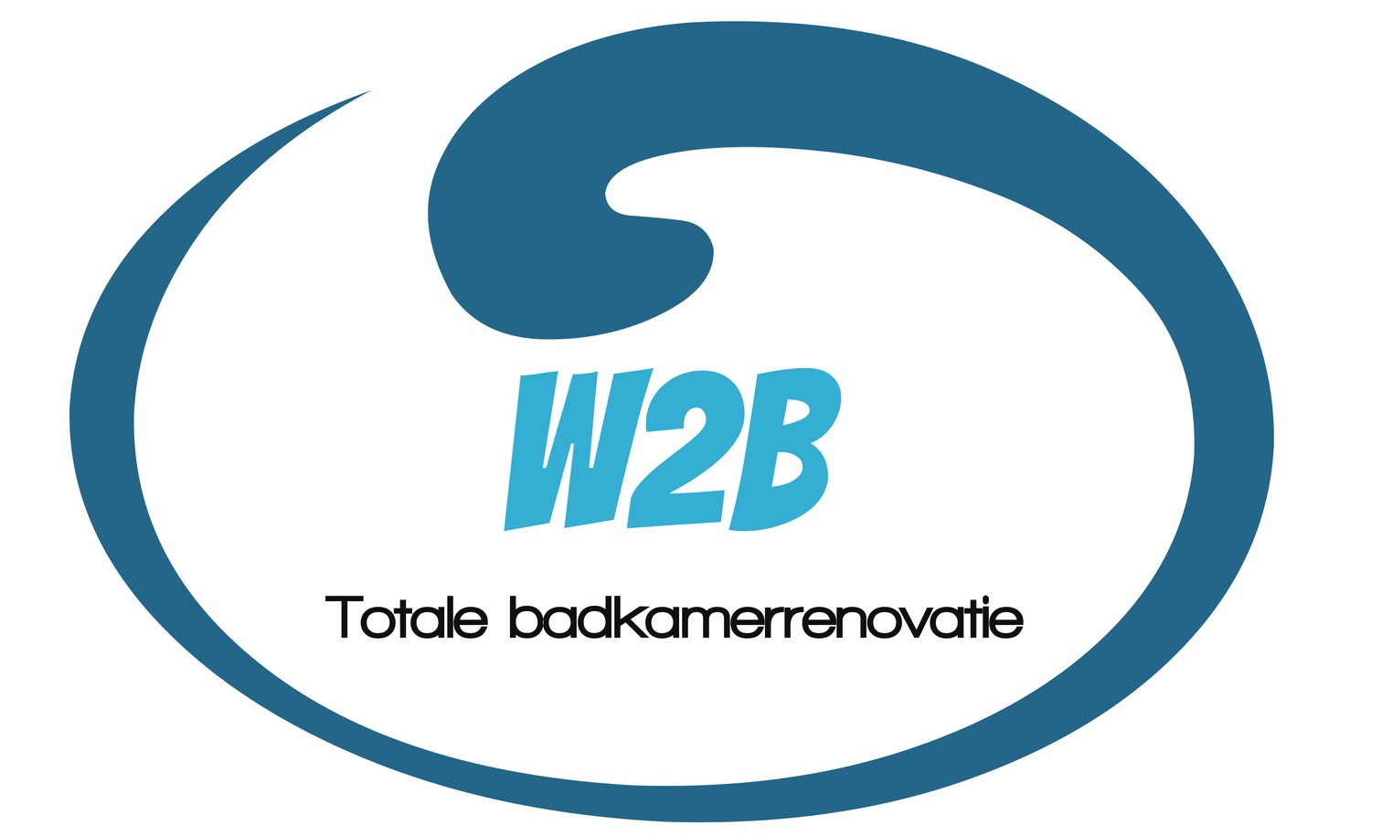 W2B Totale badkamerrenovatie logo