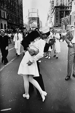 V-J Day in Times Square picture