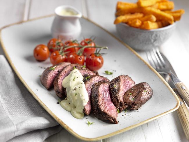 Thoms Ridley ostrich steak
