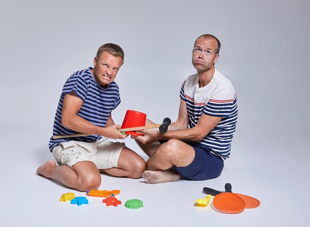 Författarporträtt: Mattias Lundberg & Jan Bylund Foto: Åsa Siller