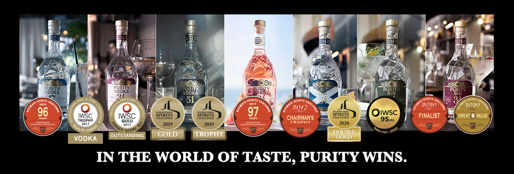 in the world of taste. purity wins.