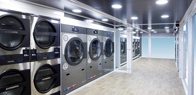 Girbau's Mobile Laundry