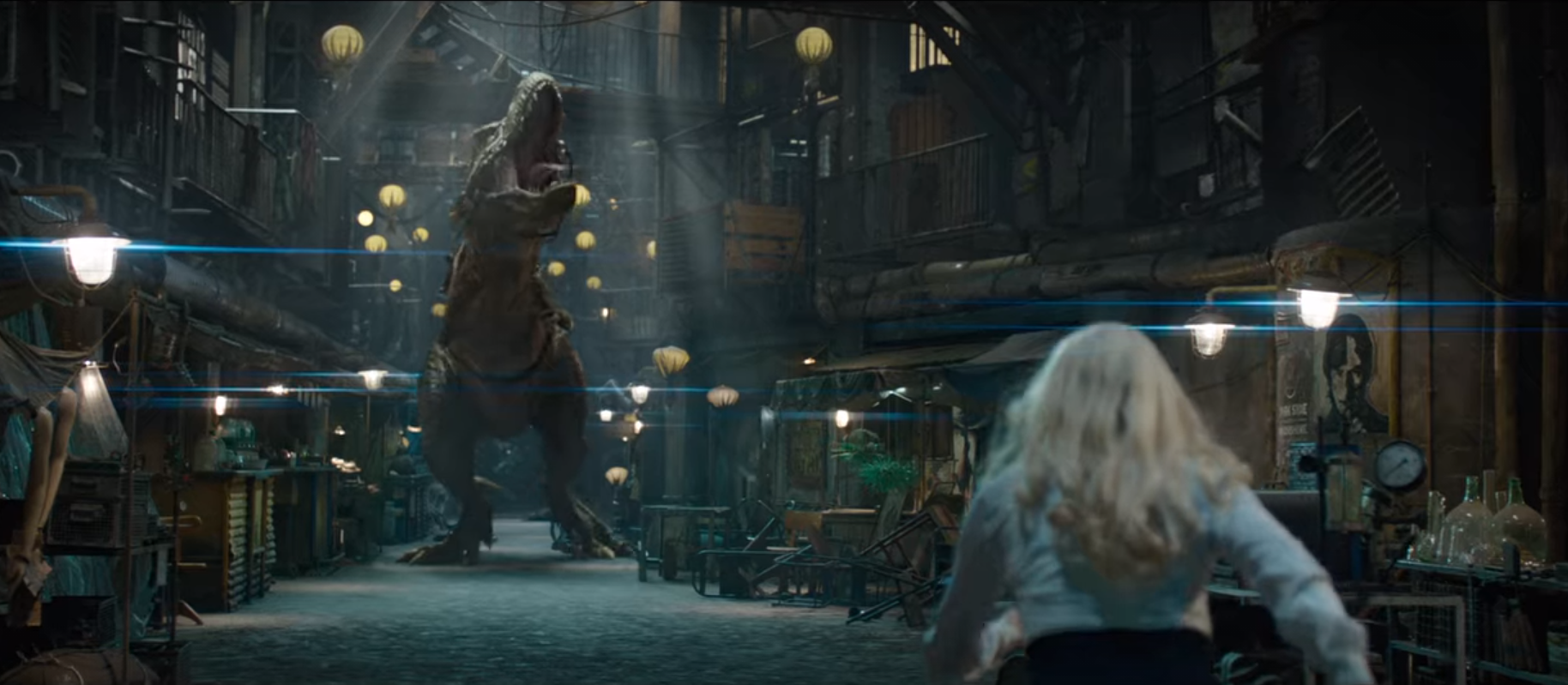 Yes, that's a Tyrannosaurus Rex!