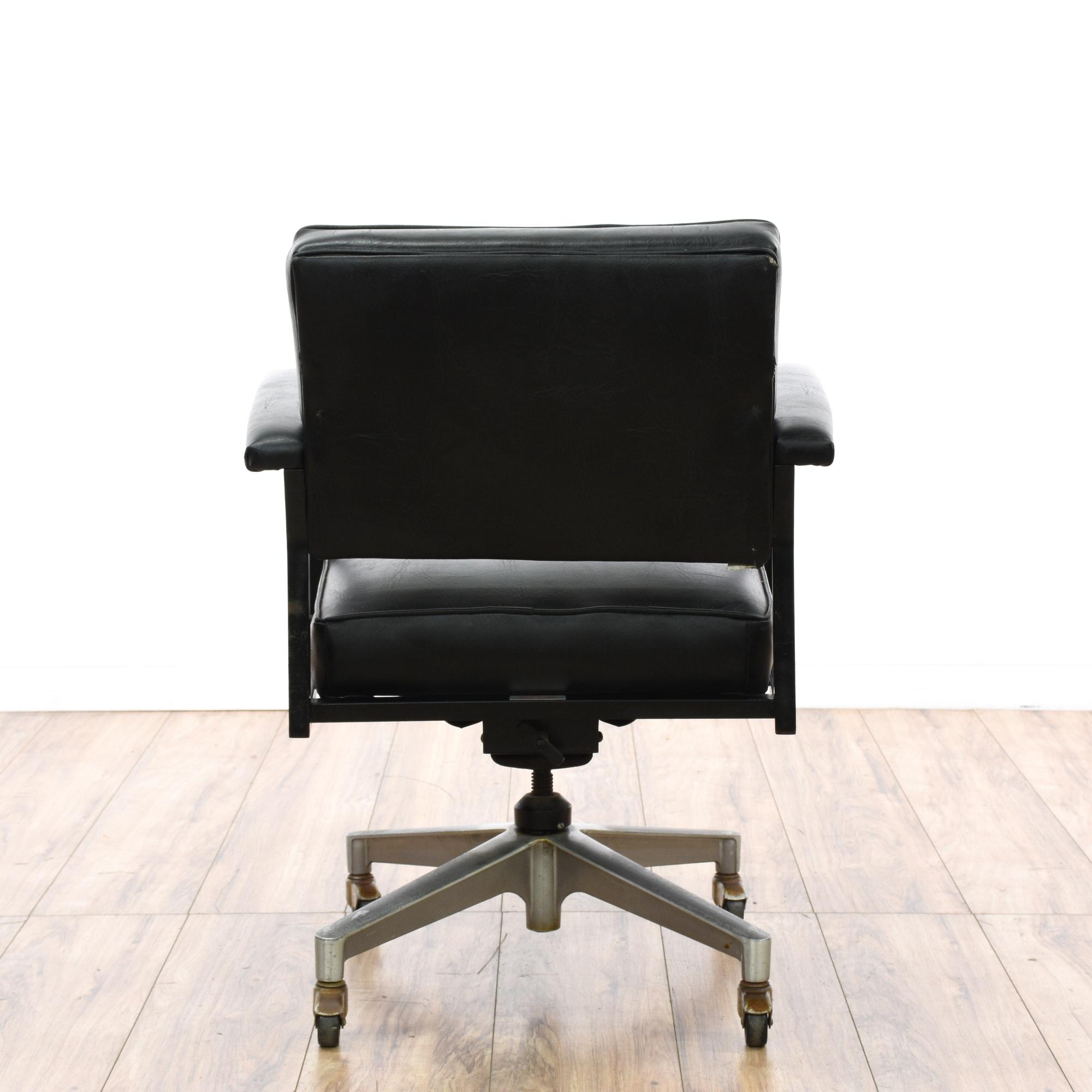 nelson thomas mid century modern office chair loveseat