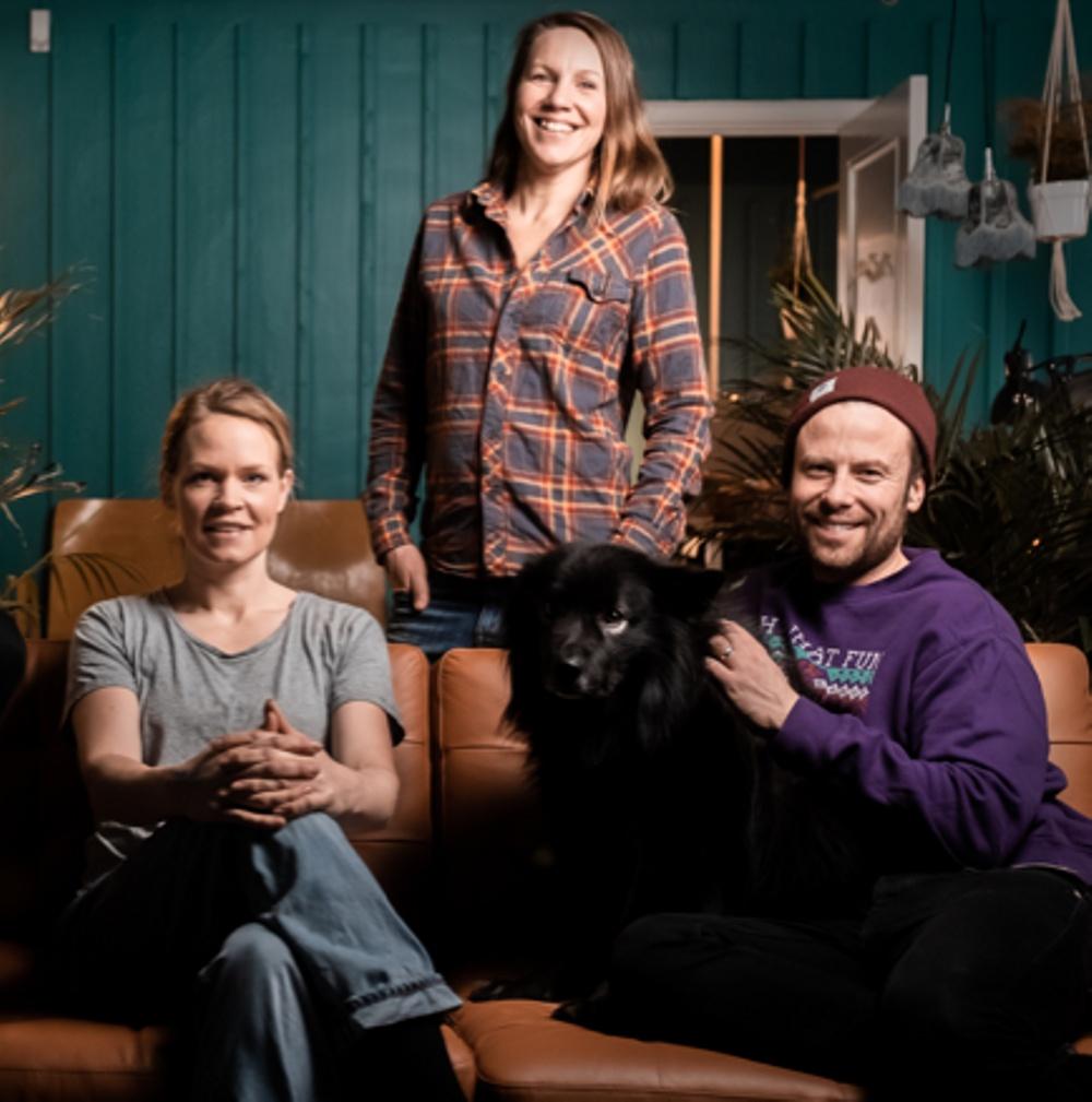 Maria Svensson Wiklander, Jenny Sandström och Johan Ranbrandt är tre av initiativtagarna till Jämtland Calling.