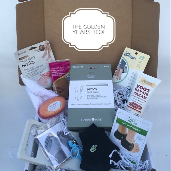 The Foot Box For Women Over 50  Nov. 2018