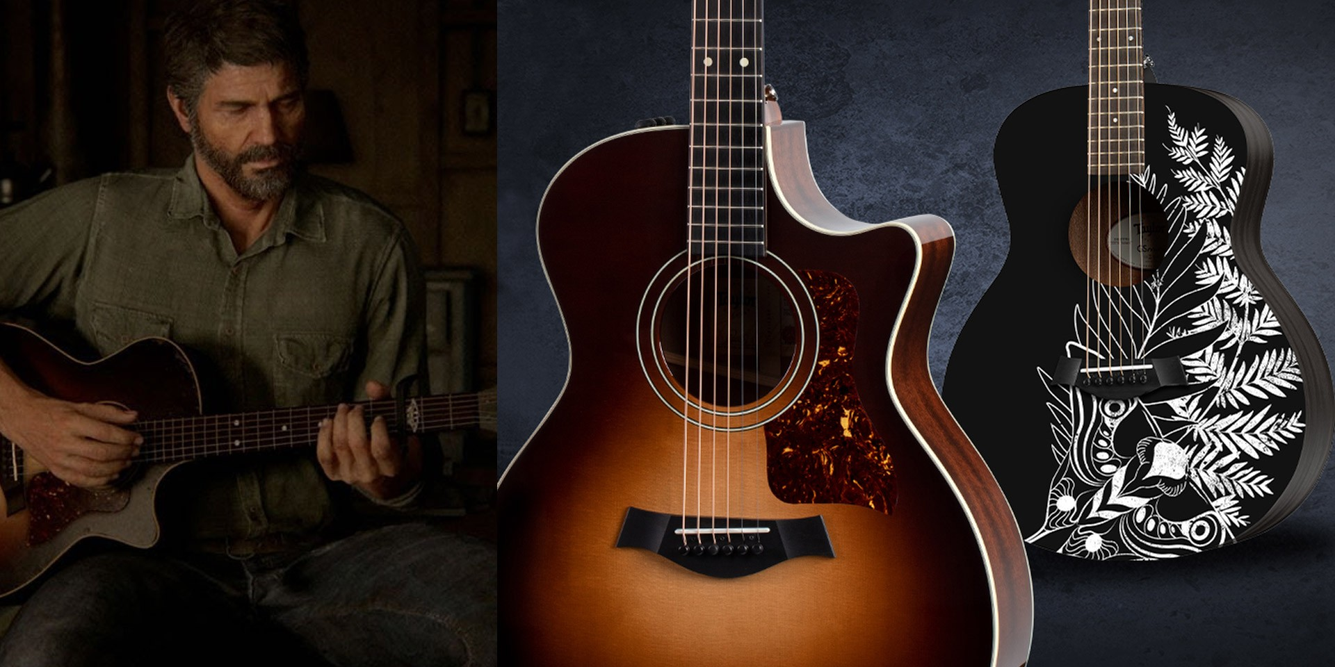 Taylor to release limited edition The Last of Us Part 2 guitars