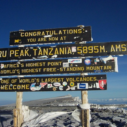 Kilimanjaro 6 Days Marangu Route