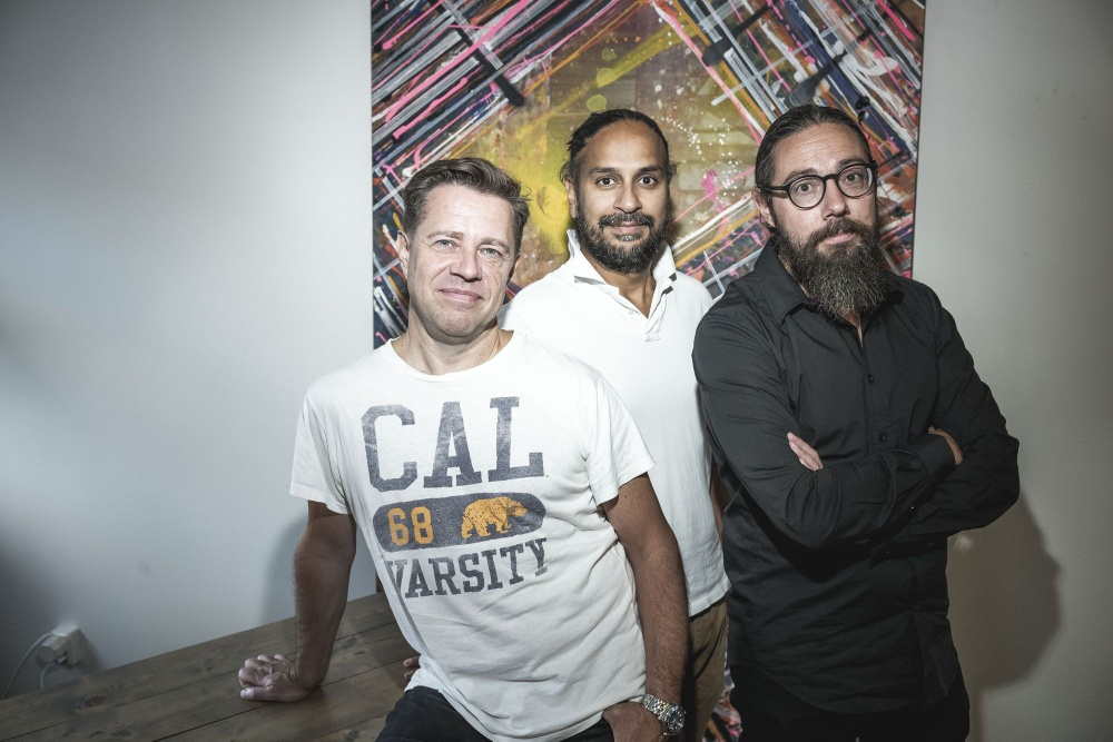 SongAlongLookatech Peo Thyren, Raj Singh, Tobias Larsson_Foto RickardLiljeroEriksson