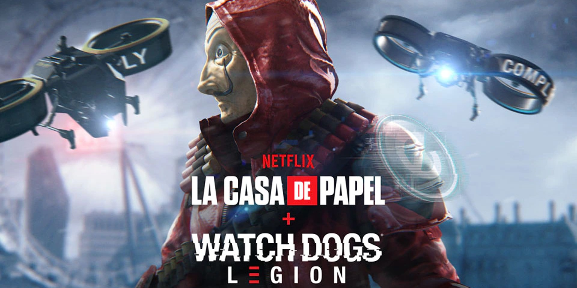 Watch Dogs: Legion available for free this weekend, launches new 'Money Heist' mission