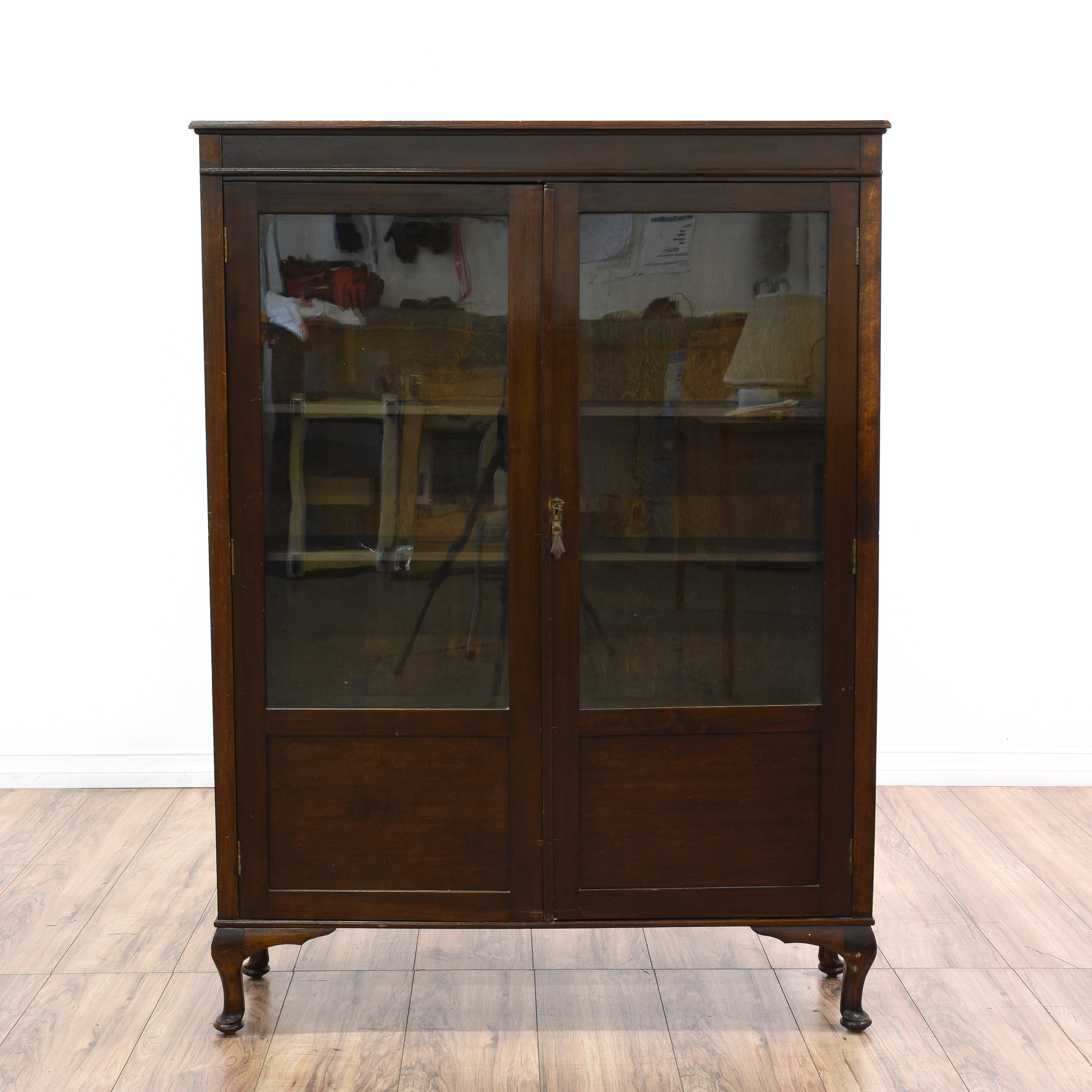 #885A43 Dark Cherry Glass Front Display Case Cabinet Loveseat  with 2000x2000 px of Recommended Glass Display Cases San Diego 20002000 save image @ avoidforclosure.info