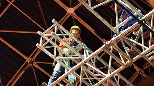 Représentation de la formation : Travail en hauteur port des EPI
