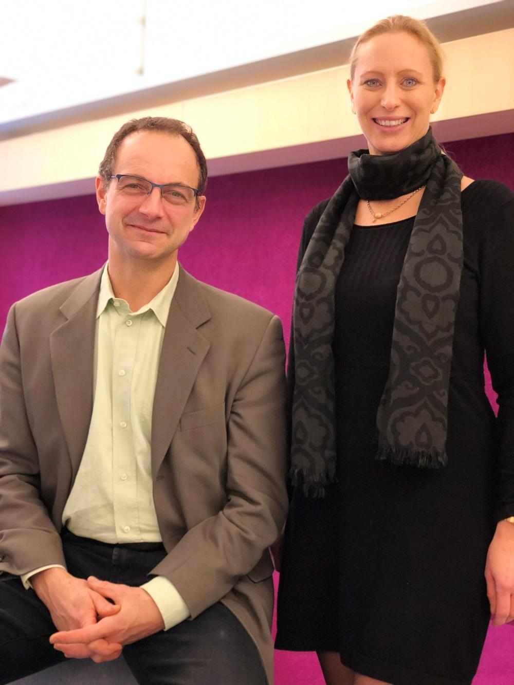 Charlotta Dahlborg och Christian Krog-Jensen