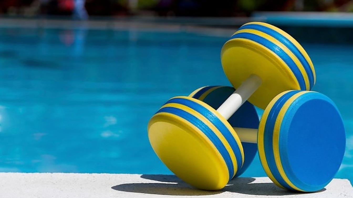 Pool Pleasures Class (Gina)