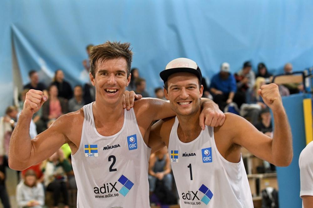 Alexander Herrmann och Martin Appelgren. Foto: Johanna Svensson