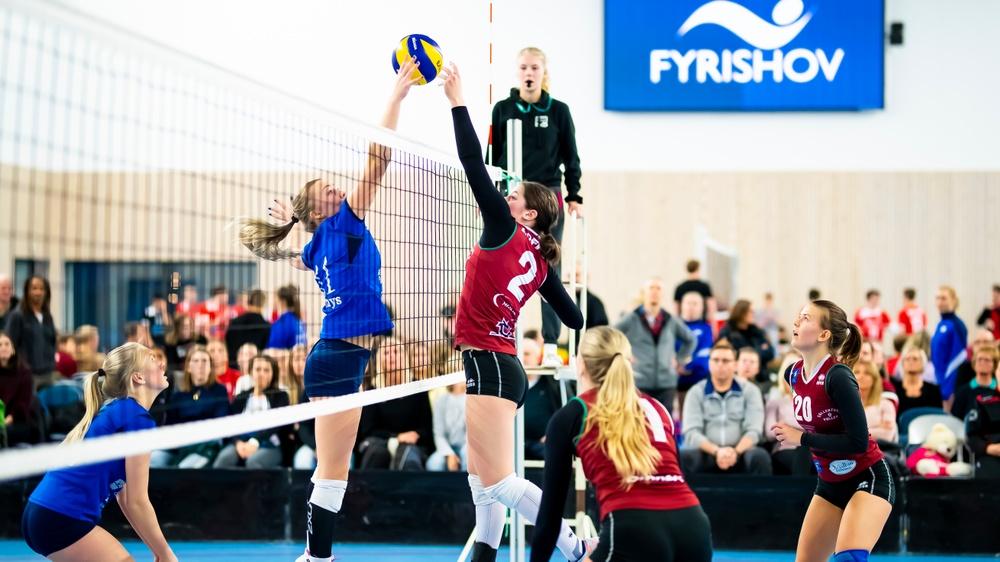 Volleyboll Grand Prix är ett av de evenemang man värvat till Uppsala under en flerårsperiod. Foto: Robert Boman.