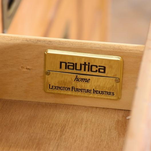 Quot Lexington Nautica Quot Long Wood Dresser Loveseat Vintage