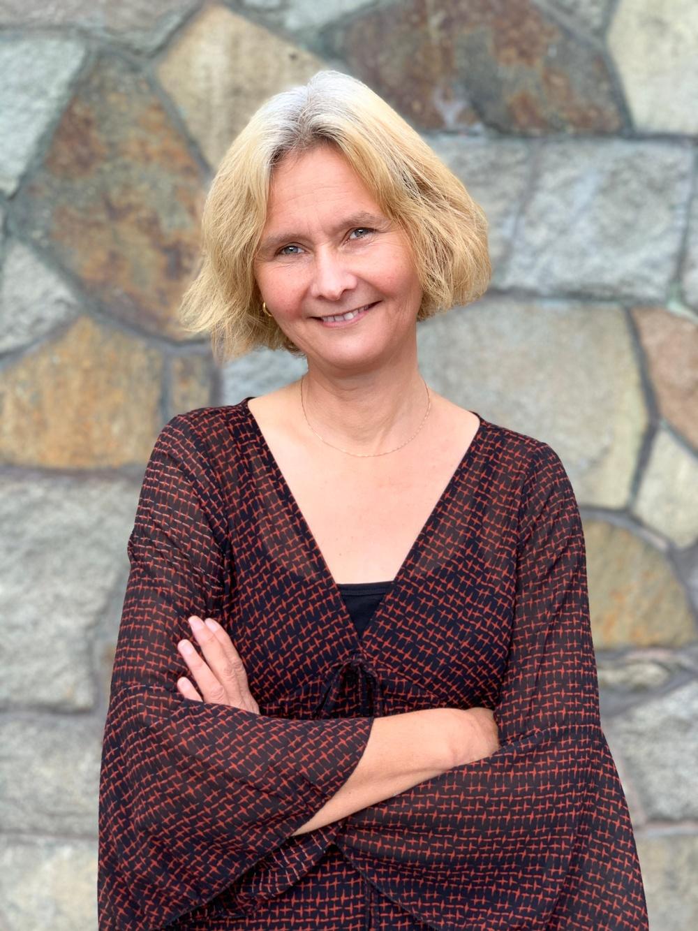 Åsa Berndtsson, konstnär och Bildupphovsrätts ordförande Foto: Emma Grip