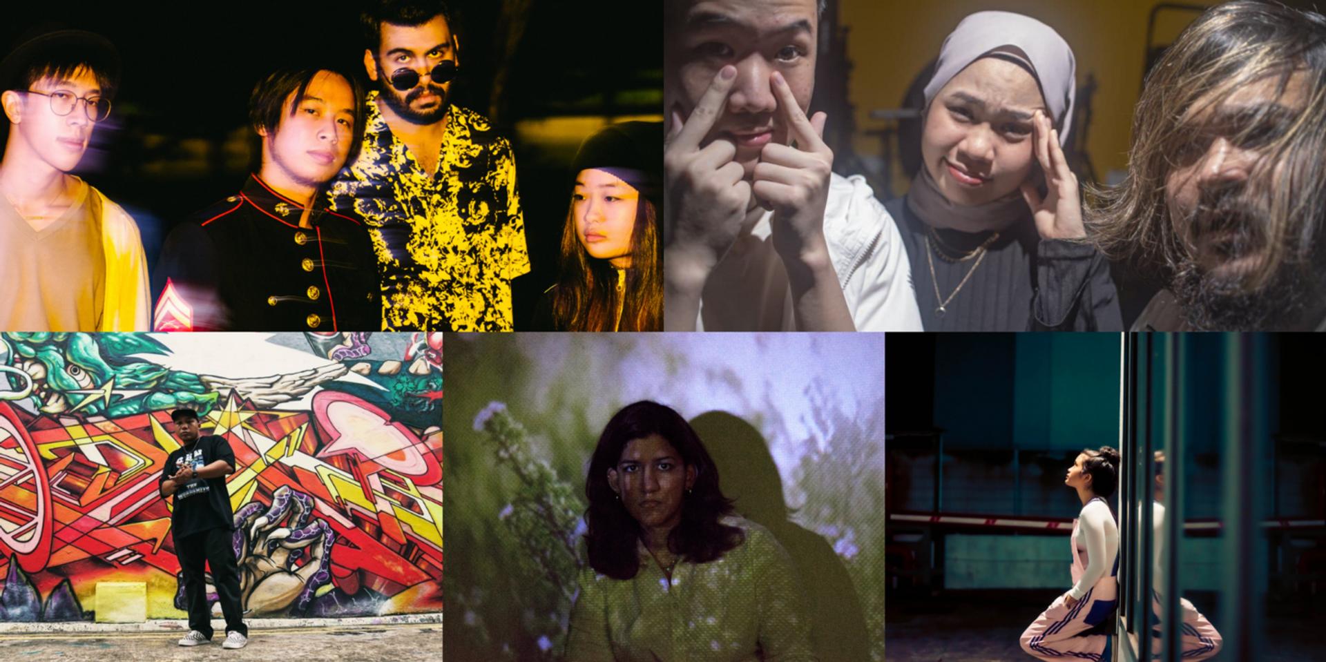 Vans Musicians Wanted 2021 Singapore Top 5 finalists announced: Cactus Cactus, Krysta Joy, San The Wordsmith, Sio Lubis, Yishun Panik