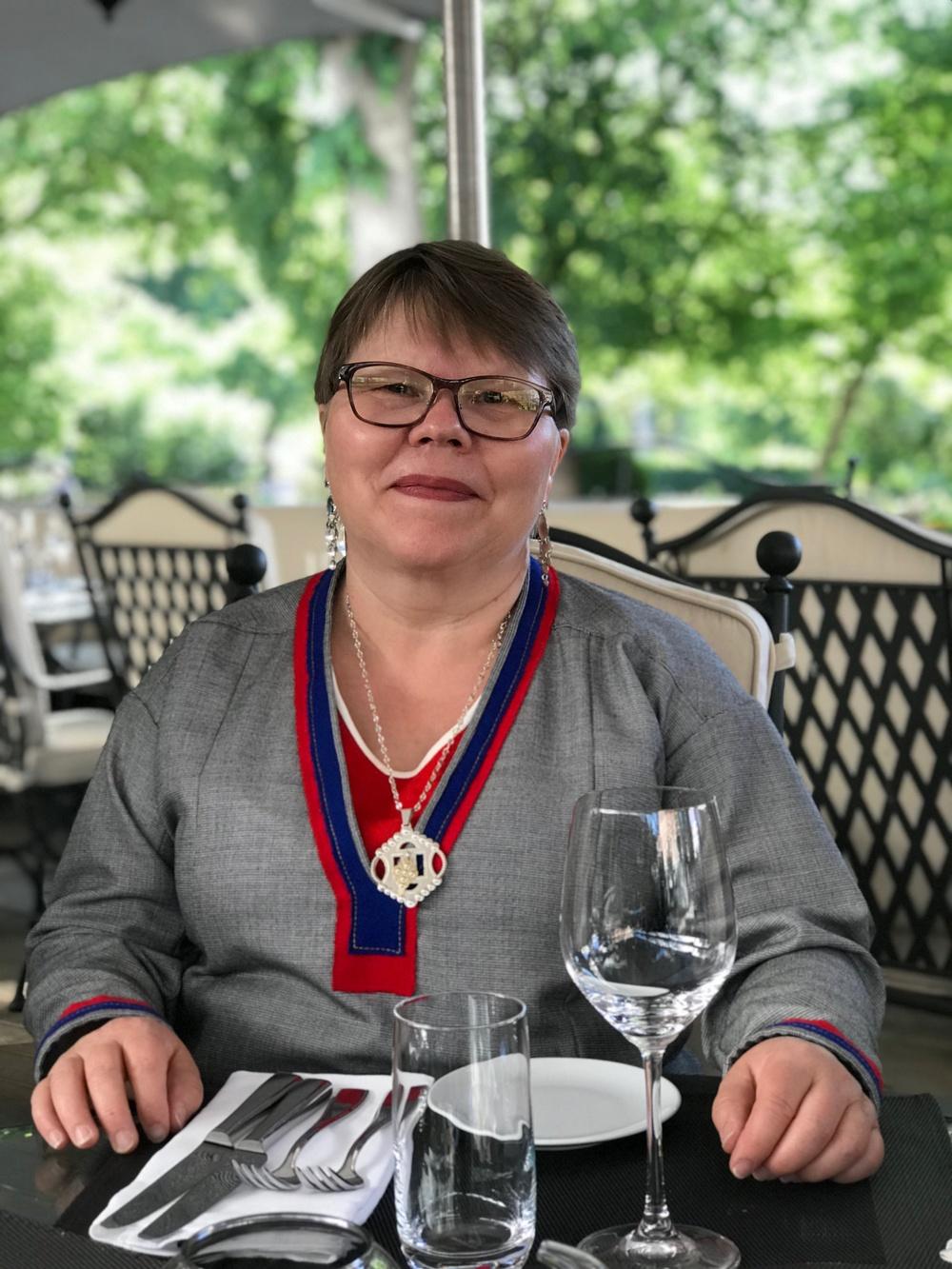 Katarina Pirak Sikku Fotograf: Katarina Spiik Skum