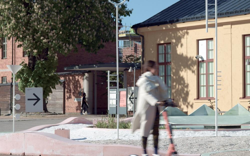 Still from 'Studio Ossidiana: Utomhusverket 2021', a 20 minute-long documentary released on June 7