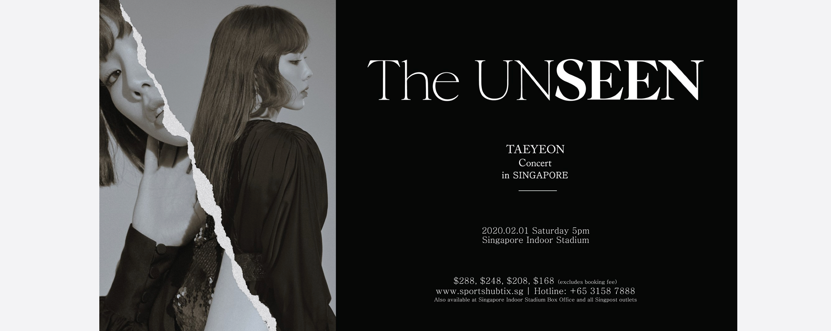 [CANCELLED] Taeyeon Concert – The Unseen – in Singapore