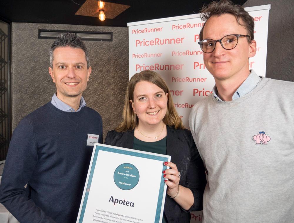 Årets E-mästare Apotea - Nicklas Storåkers VD PriceRunner