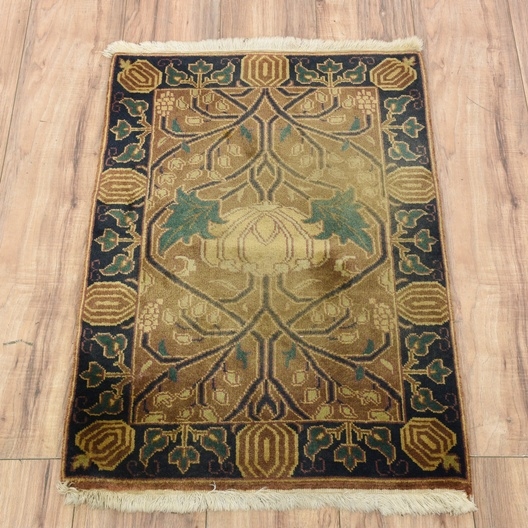 Hand Knotted Indian Prayer Rug